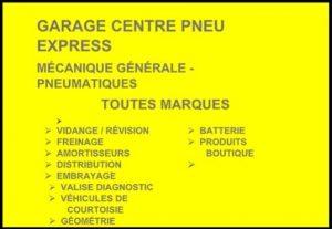 centre pneu express